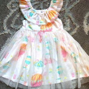 *2/$10* Blueberi Blvd hot air balloon dress sz 18M